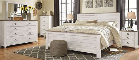 white washed bedroom furniture sets willowton whitewash panel bedroom set bedroom sets bedroom