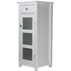 sears bathroom furniture home fashions connor floor cabinet with 1 door and