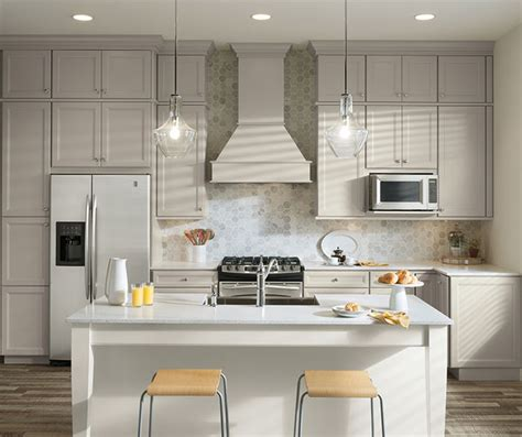 gray and white kitchen cabinets gray white cabinets in two tone kitchen aristokraft