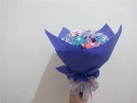 origami mawar jual buket bunga mawar origami origamiflower