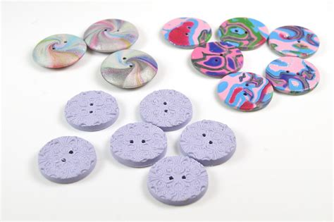with polymer clay how to make polymer clay buttons the blue bottle tree