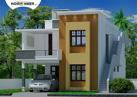 plan home design modern contemporary tamil nadu home design