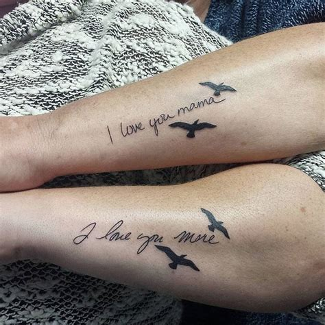 26 awesome mother daughter tattoos to show their
