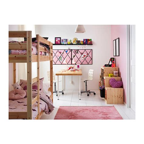 ikea bunk bed for mydal bunk bed frame pine 90x200 cm ikea