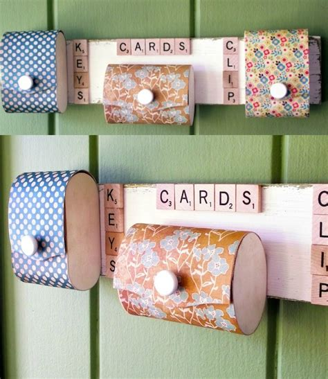 diy organizer for those with limited space mod podge rocks