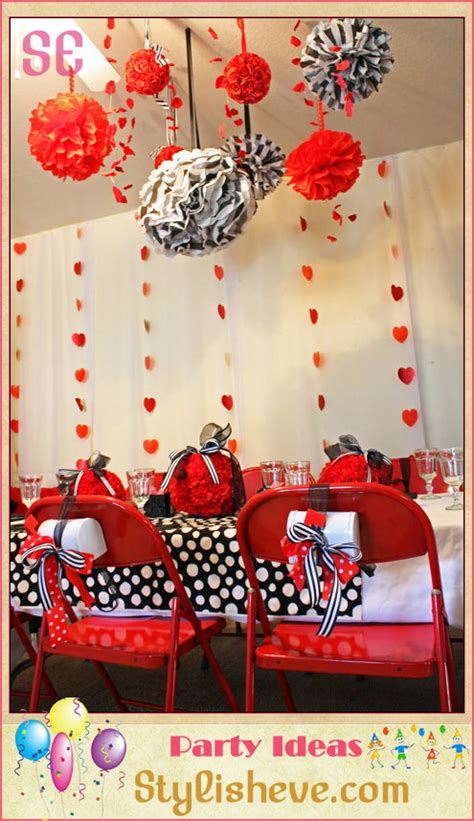 Home Party Decoration Ideas always plan a different type of decor for the private party