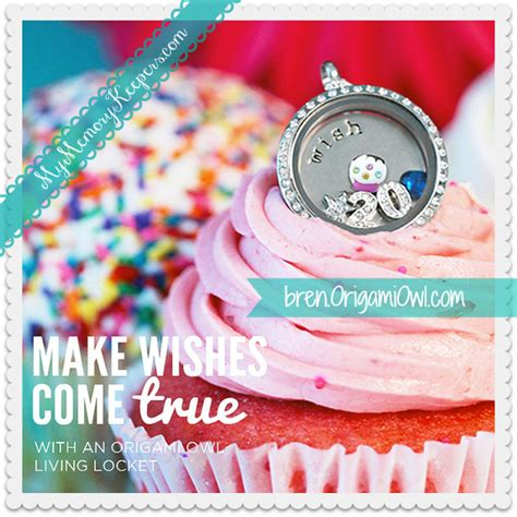 origami owl birthday locket memory keepers origami owl living lockets bren yule