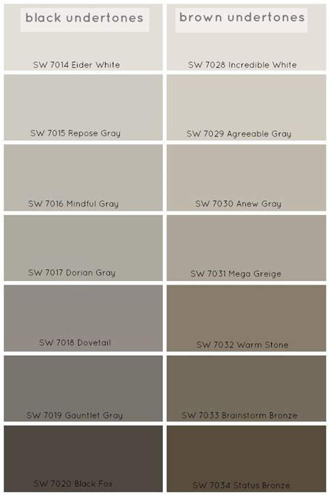 paint colors gray tones 25 best ideas about gray brown paint on brown