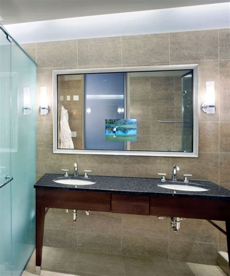 electric mirror bathroom stanford bathroom mirror tv electric mirror water