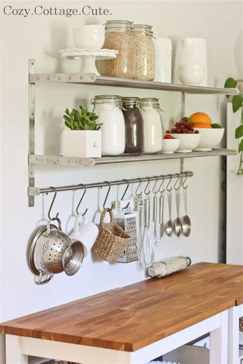 kitchen storage shelves ideas 25 best ideas about kitchen shelves on open