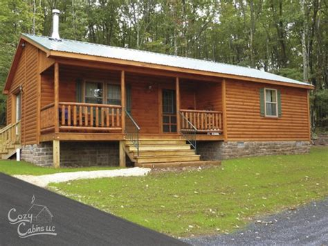 Cozy Cabins by Frontier Log Cabin Manufactured In Pa Cozy Cabins
