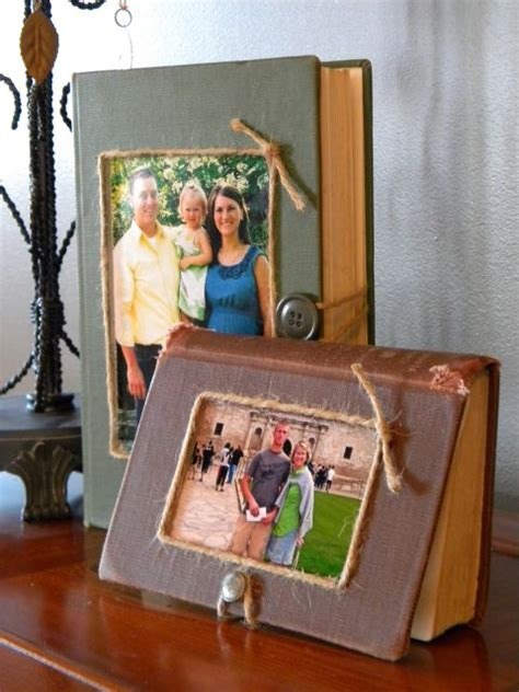 picture frame book vintage book craft ideas book upcycling projects