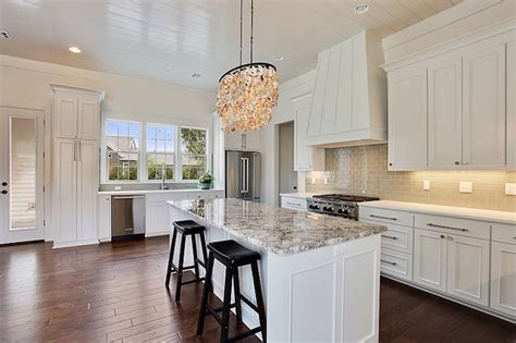 kitchen counters and cabinets white kitchen island with gray granite countertops