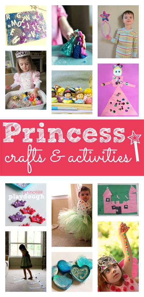 crafts and activities for princess activities for preschool