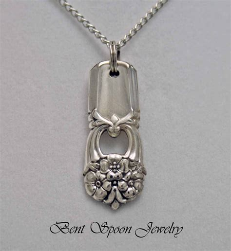 how to make silverware jewelry at home spoon jewelry spoon necklace pendant silverware jewelry