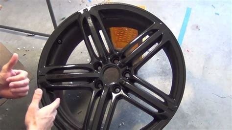 spray paint your rims black plastidip glossifier black rims how to from