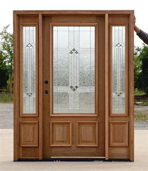doors exterior wood wood exterior doors with glass marceladick