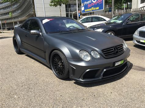 2003 Mercedes Cl55 Amg by 2003 Mercedes Cl55 Amg Asx Wide Bodykit Benztuning