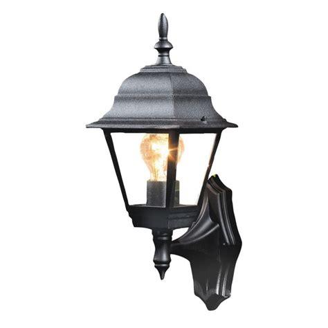 outdoor lights b q b q penarven outdoor wall light in black wall light
