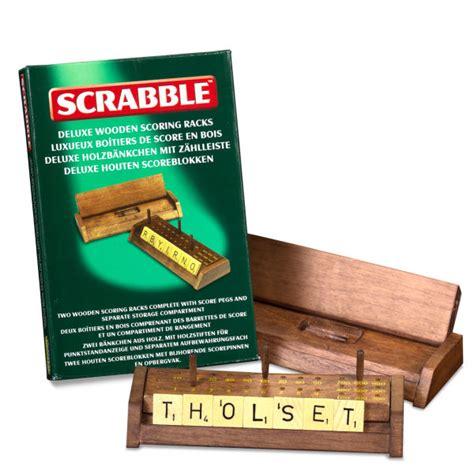 scrabble racks for sale scrabble deluxe wooden scoring racks toys zavvi