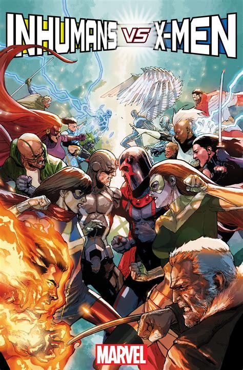 comics vs marvel announces inhumans vs and civil war ii the