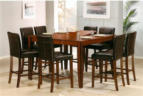 bar style dining room sets dining room stunning pub style dining room table bar pub