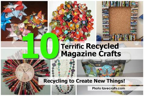 magazine craft projects 10 terrific recycled magazine crafts