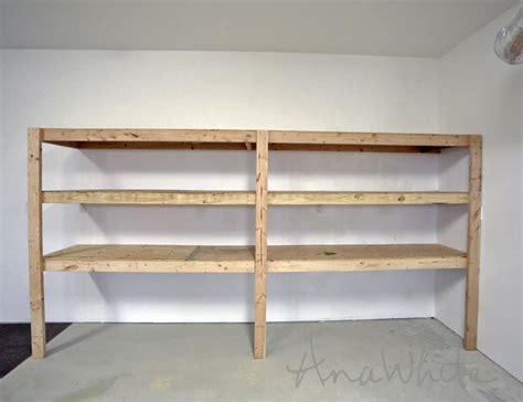 storage shelves for garage plans for garage storage shelves image mag