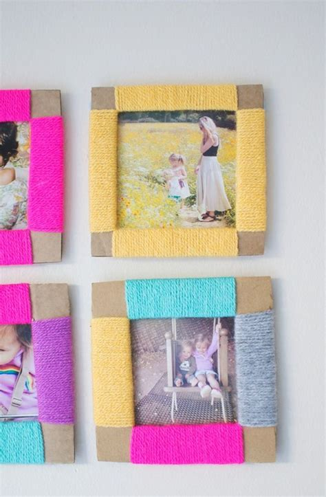 diy crafts 14 captivating photo frame ideas for room