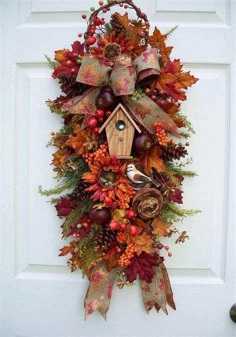 cheap garlands and swags 1490 best images about wreaths on fall door