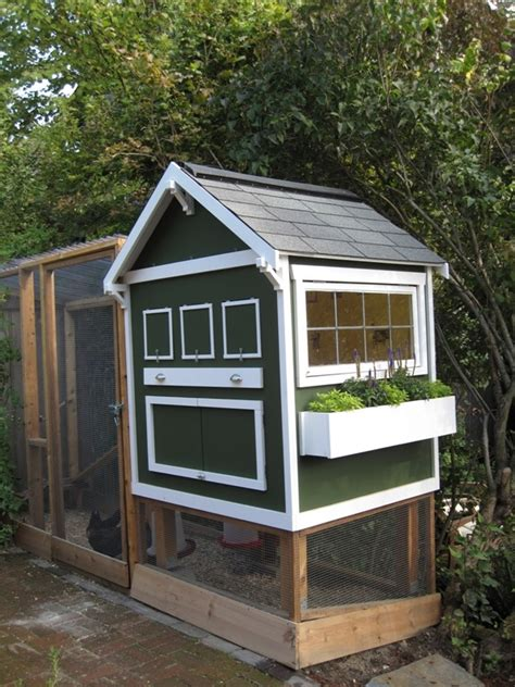 backyard chicken houses how to house backyard chickens in style popsugar home