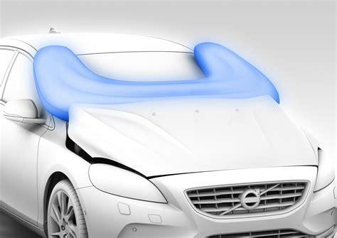 Volvo Airbag by Technical Analysis Pedestrian Airbags