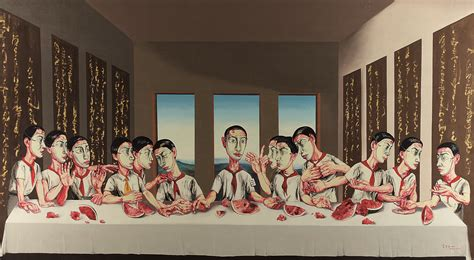 chino painting in china the last supper heads to auction but not the one you re