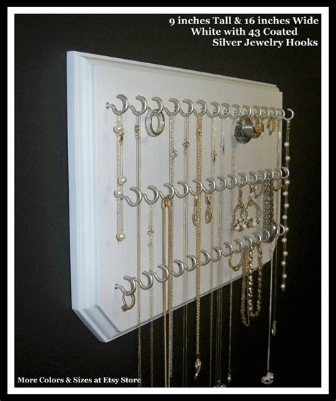 how to make a hanging jewelry organizer hanging jewelry organizer the organizer addict