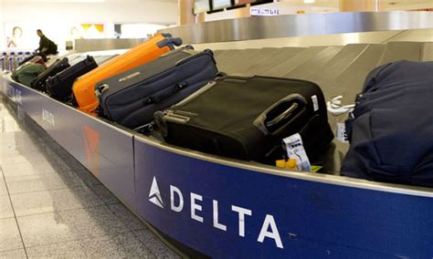 united airlines baggage fee international get your checked bag in 20 minutes promises delta