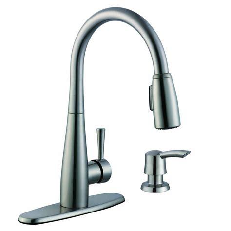 glacier kitchen faucet glacier bay 900 series single handle pull sprayer