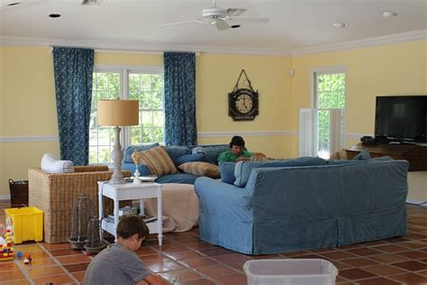before after modern cottage in modern cottage makeover family room the house of