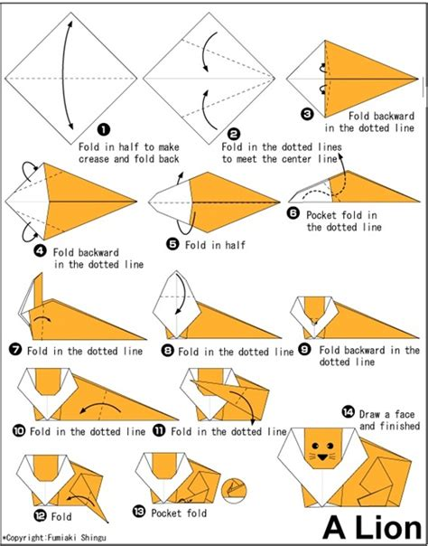 origami instraction 30 beautiful exles of easy origami animals