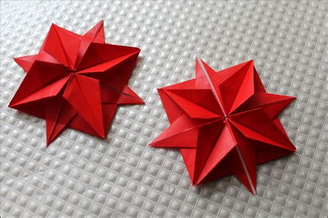 origami 12 point easy origami 8 pointed comot