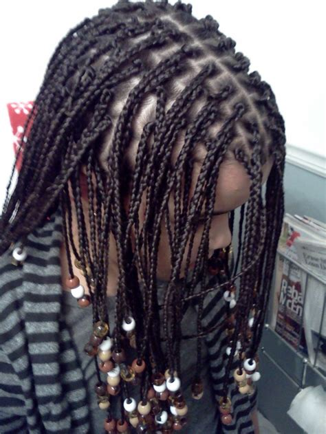 bead styles for hair box braids with added hair and hair jewelry for