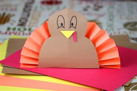 turkey construction paper craft 5 thanksgiving activities for homemaking hacks