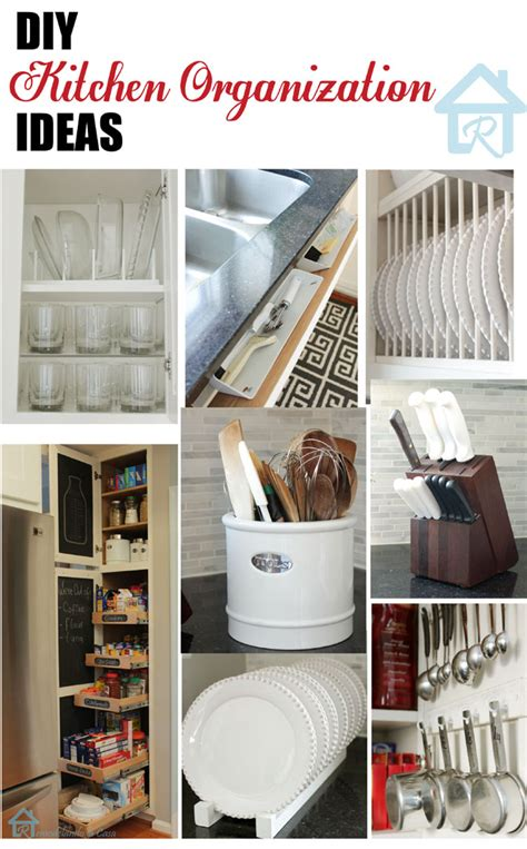 organization ideas for kitchen remodelando la casa