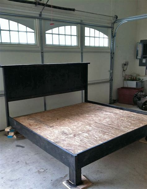 make king bed frame 25 best ideas about diy platform bed on diy