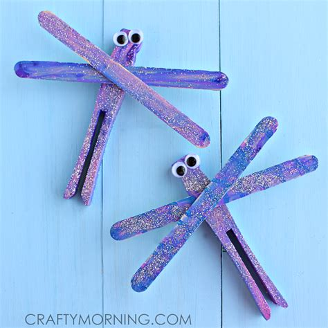 popsicle sticks crafts for popsicle stick dragonfly craft for crafty