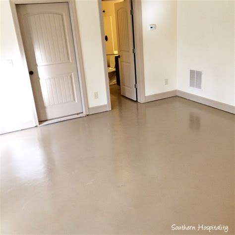 25 best ideas about painted concrete floors on