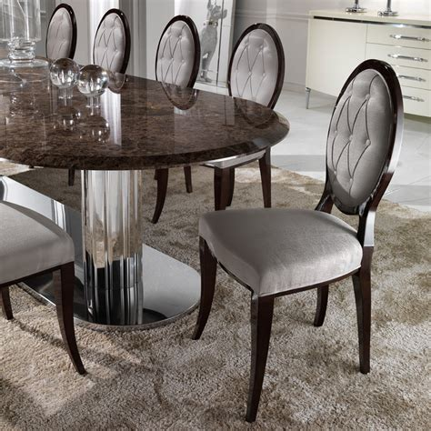 italian dining table large italian marble oval dining table set juliettes