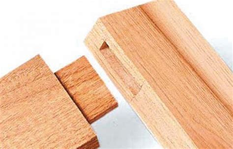 woodworking mortise and tenon woodjoinery lead