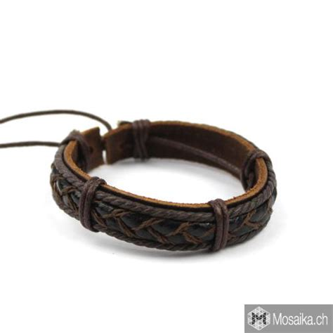 with hemp cord surfer bracelet with leather and hemp cord buy