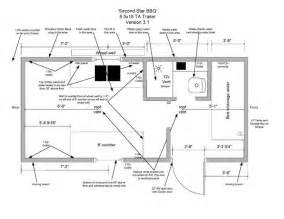 diy floor cer trailer plans cargo trailer conversion floor plans cargo trailer