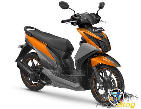 Warna Modifikasi Motor by Beat Modif Warna Orange Peysblog